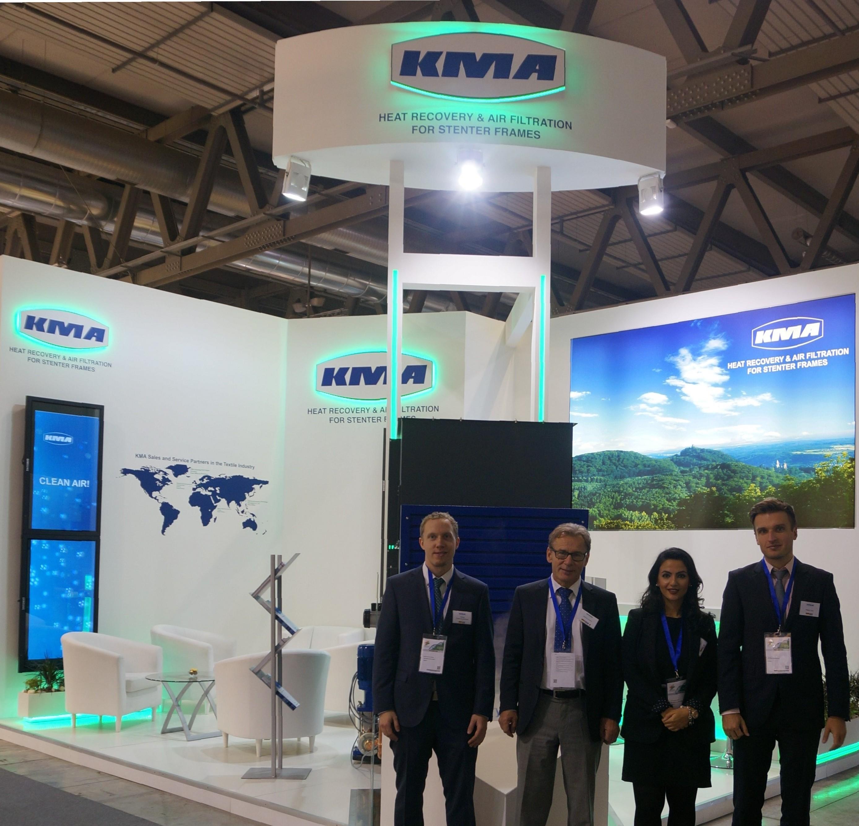 KMA auf der ITMA 2015 – ein voller Erfolg