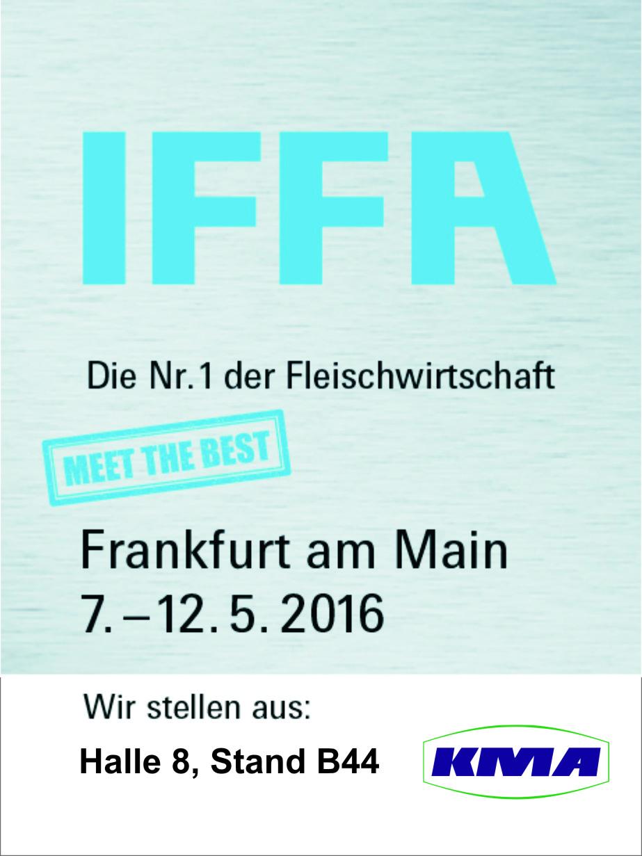 IFFA 2016 – Besuchen Sie uns!