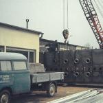 Produktionsgelände von KMA Umwelttechnik aus den 70er Jahren