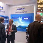 Großes Interesse am Messestand von KMA Umwelttechnik auf der ShanghaiTex