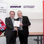 Kurt Kurtsiefer bei der Nominierung und Urkundenübergabe für den Ludwig Preis 2018