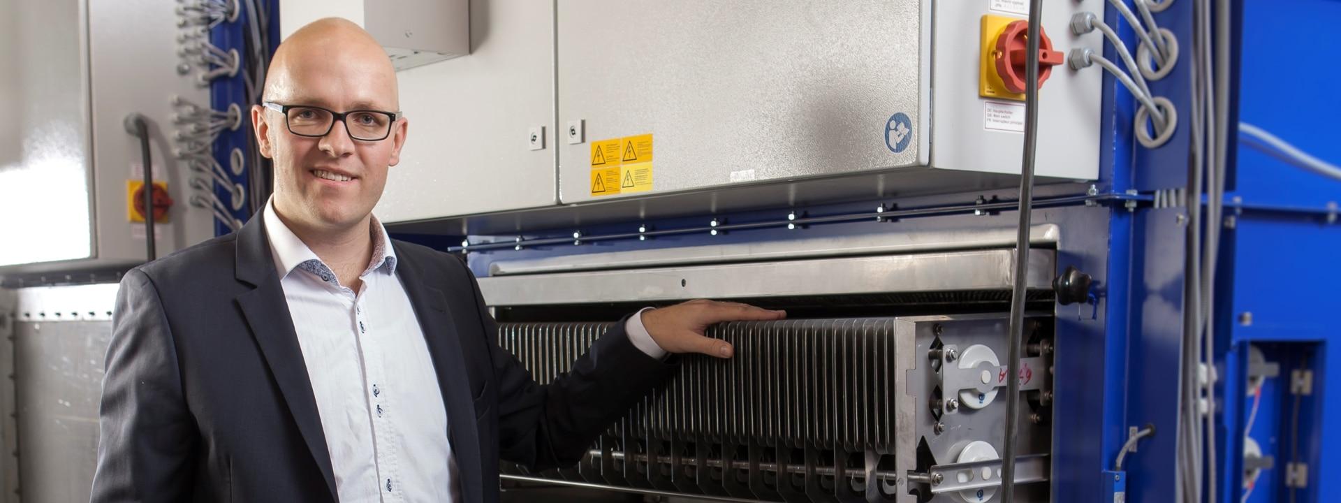 Vertrieb Mitarbeiter bei KMA Umwelttechnik