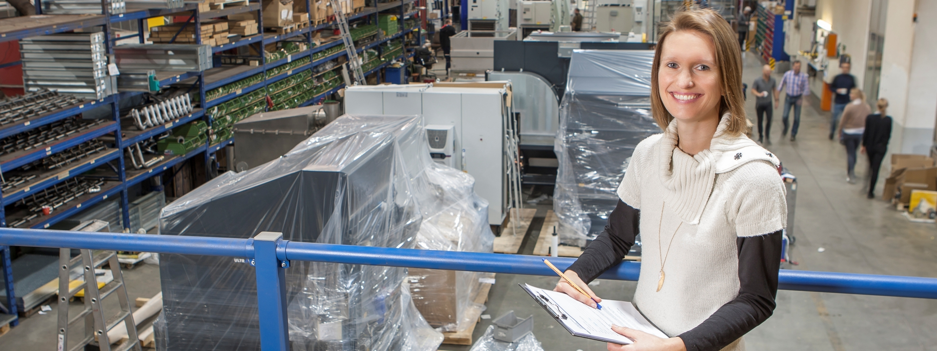 Produktionsassistentin bei KMA Umwelttechnik