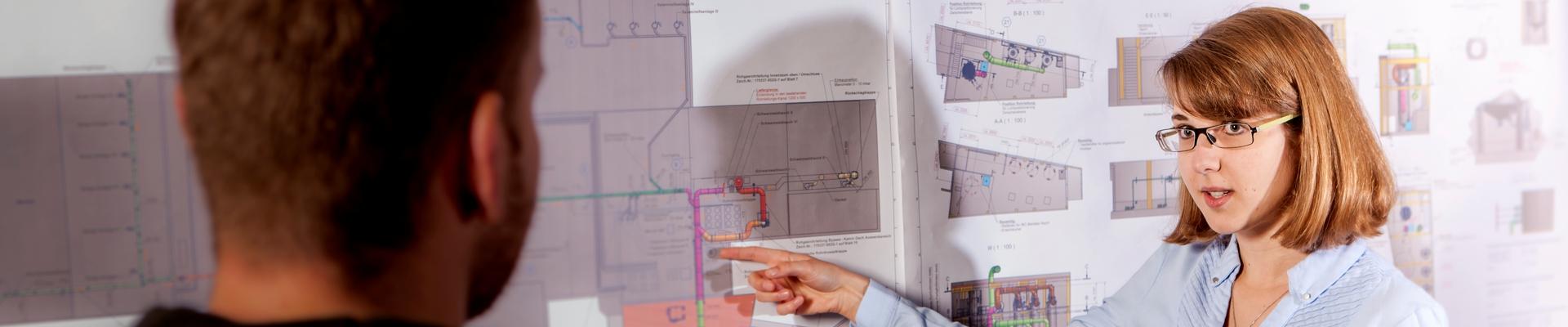 Mitarbeiterin technische Poduktdesignerin bei KMA Umwelttechnik