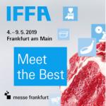 Treffe KMA auf der IFFA 2019 in Frankfurt