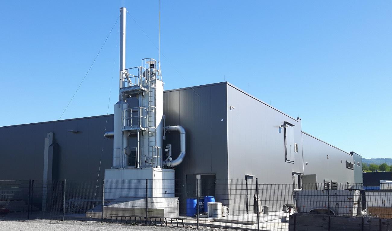 KMA AAIRMAXX bei Schwarzwaldhof zur Abluftbehandlung der Räucherei-Abluft
