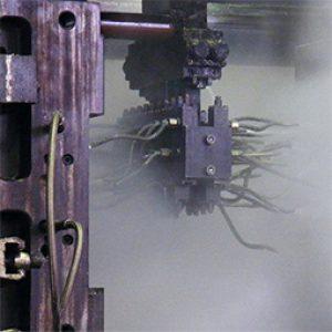 KMA Abluftfiltersysteme scheiden den beim Gießprozess entstehenen fettigen, öligen und pastösen Rauch ab.