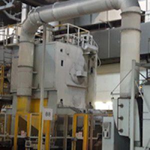 Mit dem ULTRAVENT® Filterprogramm bietet KMA ein System an, dass speziell für Anlagen der Umformtechnik entwickelt wurde, die während der Produktion öligen, fettigen, klebrigen oder staubhaltigen Rauch emittieren.