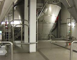 Das KMA AAIRMAXX® ESP Filterverfahren für Sprühtrockneranlagen zeichnet sich durch eine hygienische Staubabscheidung und Produktrückgewinnung aus.