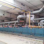 Spannrahmen des Textilherstellers Freudenberg mit KMA Ultravent Filteranlage