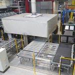Produktionshalle des Gummiwerkes Kraiburg