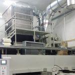 Spannrahmen des türkischen Unternehmens Kirayteks mit KMA Ultravent Filteranlage