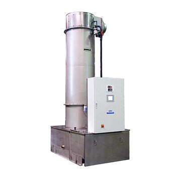 Der KMA Abgaswäscher arbeitet nach dem Absorptionsprinzip und scheidet so Gerüche, Gase und Dämpfe ab.