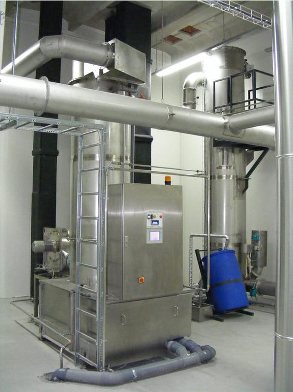 Es lassen sich mehrere Räucheranlagen an einen AAIRMAXX® Rauchfilter anzuschließen.