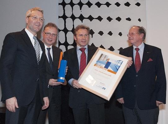 Auszeichnung European FoodTec Award