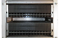 Geringer Wartungsbedarf - automatische Filterreinigung