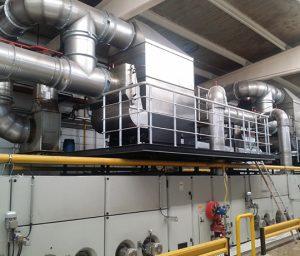 Das KMA Abluftfiltersystem gewinnt Wärme für die Erwärmung von Luft & Wasser zurück