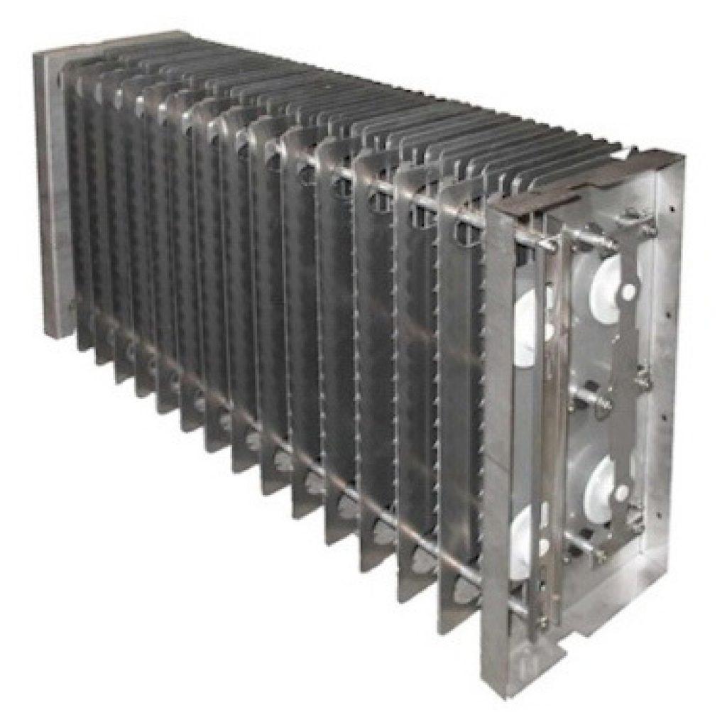 Der KMA Elektrofilter erlaubt die hochgradige Abscheidung von Rauch, Staub, feinsten Nebeln sowie klebrigen oder fettigen Aerosolen für optimale Reinluftqualiät.
