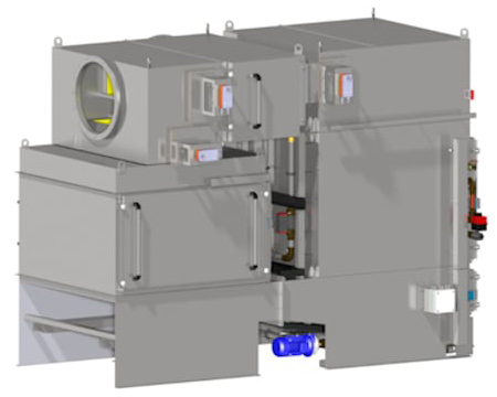 Die Tandem Variante des KMA ULTRAVENT® Systems
