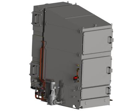 Die Turm Variante des KMA ULTRAVENT® Systems