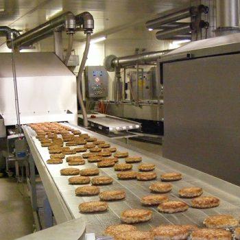 Lebensmittelproduktion Frittierstraße Abluftbehandlung