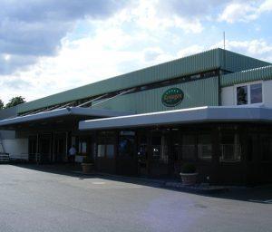 Produktionshalle eines deutschen Frikadellenherstellers