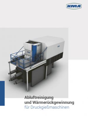KMA Broschüre für Druckgießereien