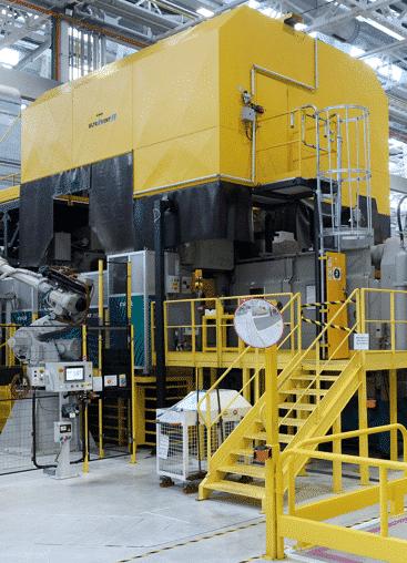 KMA Abluftfiltersystem bei Renault.