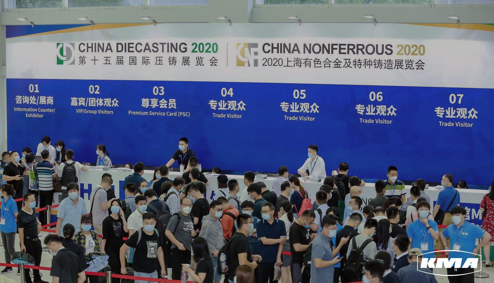 KMA auf der China Diecasting 2020