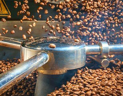 Kaffeeröstung in der Lebensmittelproduktion