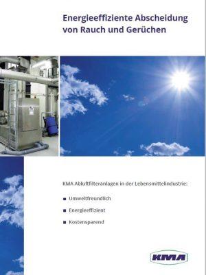 Energieeffiziente Abscheidung von Rauch und Gerüchen in der Lebensmittelindustrie