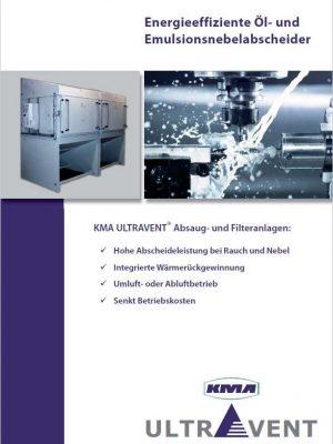Energieeffiziente Öl- und Emulsionsnebelabscheider für die Metallverarbeitung