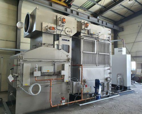 Erste Abluftfilteranlage mit integrierter Wärmerückgewinnung in Südkorea