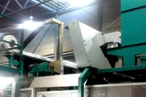 KMA Ultravent Luftschleieranlage über Druckgießmaschine