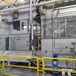 KMA Filtersystem and heat recovery for the textile industry