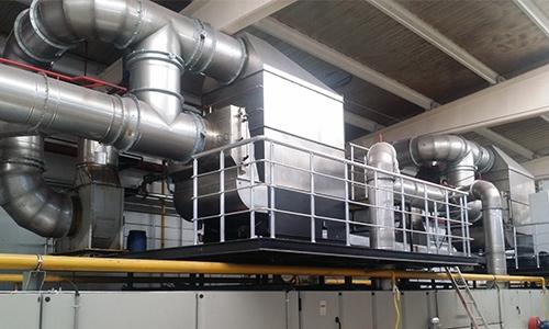 KMA Ultravent Absaugsystem in der Textilindustrie