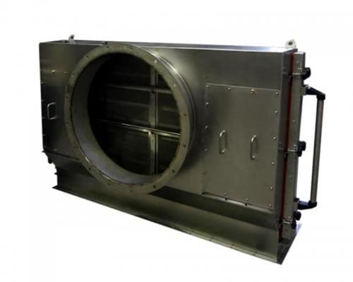Der Flusenfilter dient der Vorfiltration bei der Bearbeitung von rauhen Stoffen aus grobgewebten Fasern.