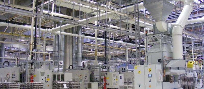 Reine Luft in der Gießerei-Halle durch innovative Abluftfilter